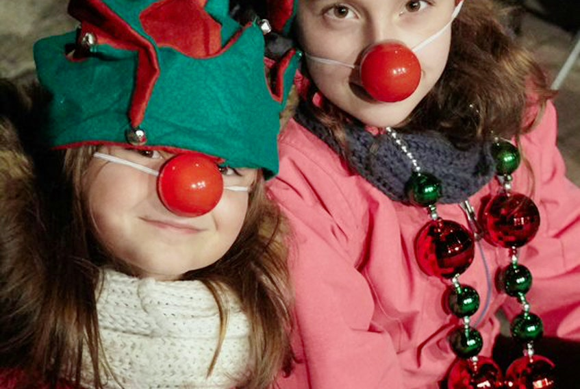 Red noses, sold by volunteers to raise money for the QEII Foundation, were a hit at The Chronicle Herald Holiday Parade of Lights in downtown Halifax, Saturday, Nov. 16, 2019.