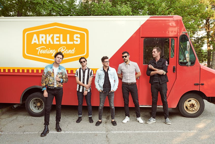One of Canada's most popular rock acts Arkells plays the 2019 Halifax Pop Explosion's first Scotiabank Centre show on Saturday night with B.C.'s Mother Mother and 2019 Polaris Music Prize winner Haviah Mighty. - Matt Barnes