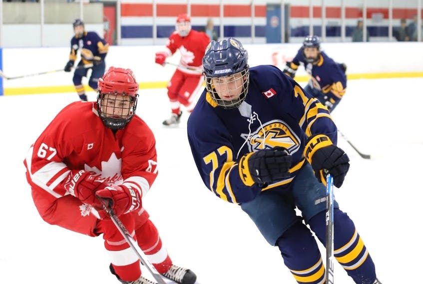 The Ottawa 67's selected forward Nicholas Moldenhauer 20th overall in Saturday's OHL draft. (SUPPLIED PHOTO)