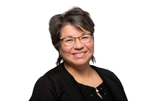 Andrea Paul is chief of Pictou Landing First Nation and says she relates to the women feeling threatened, and wants to use her voice in leadership to fight for them. CONTRIBUTED