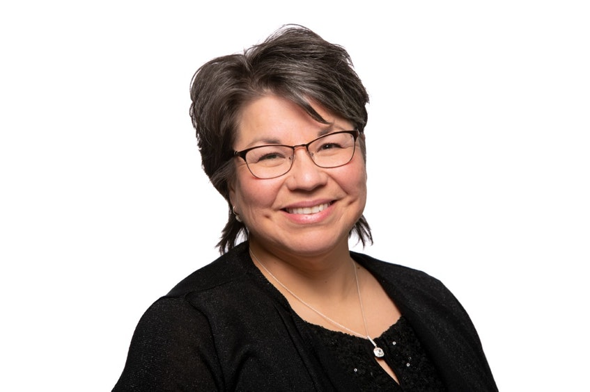 Andrea Paul, chief of Pictou Landing First Nation. - Ardelle Reynolds