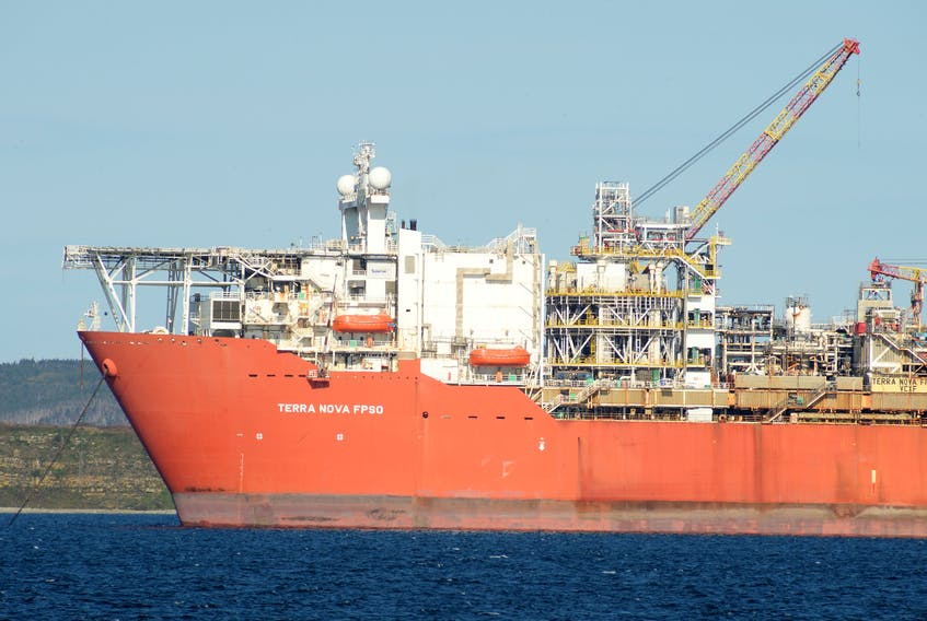 The Terra Nova FPSO has not produced oil since late December of 2019. — FILE PHOTO BY KEITH GOSSE/THE TELEGRAM