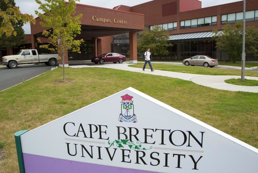The campus centre at Cape Breton University is shown in this file photo. CONTRIBUTED