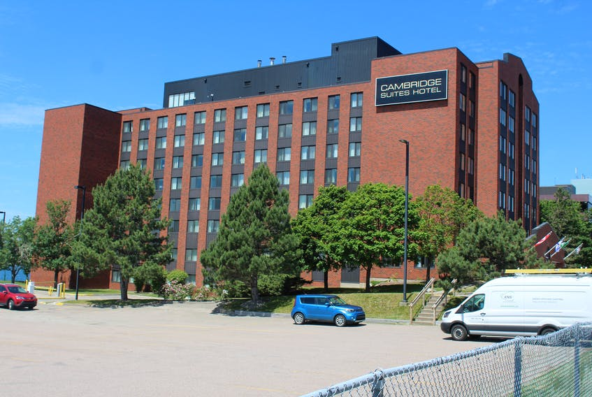 On Monday, Irwin Simon finalized the purchase of the Cambridge Suites Hotel on the Sydney waterfront. The Glace Bay native, who also owns the Quebec Major Junior Hockey League's Cape Breton Eagles, says he sees lots of opportunity with owning the hotel. JEREMY FRASER/CAPE BRETON POST