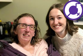No More Warehousing - The Nova Scotia Association for Inclusive Homes and Support (NMW) founder and board member Jen Powley, left, and board member Emma Cameron, right.