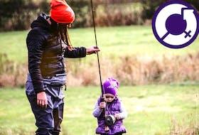 Children enjoy regular fishing trips organized by the non-profit organization, Woman that Hunt, in Nova Scotia.
