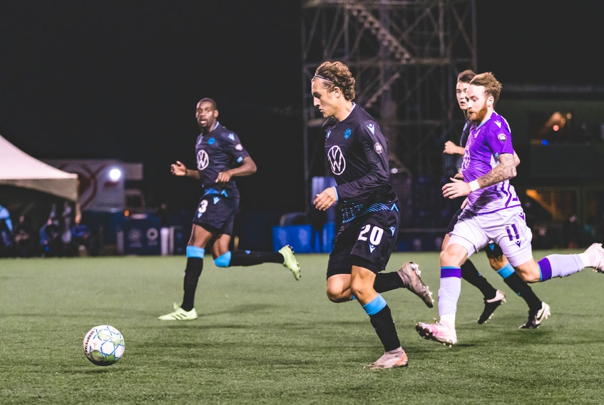 Defender Jake Ruby re-signed with HFX Wanderers FC on Wednesday. (HFX Wanderers FC)