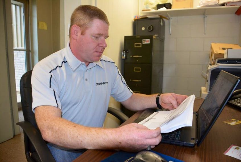 <p>Jason Woodbury, president CUPE Local 3324, which represents paramedics employed by Island EMS, is concerned about some aspects of the province's plans to treat Ebola. Colin MacLean/Journal Pioneer</p>