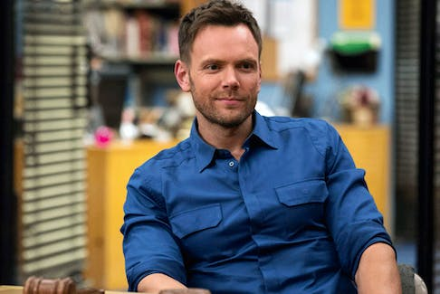 Glib, eloquent monologues: Joel McHale played Jeff Winger in the TV series Community.