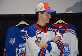 Forward Jonah Jelley of Charlottetown was the Summerside D. Alex MacDonald Ford Western Capitals' first selection in the Maritime Junior Hockey League Entry Draft on Saturday. The Caps took Jelley in the second round, 21st overall.