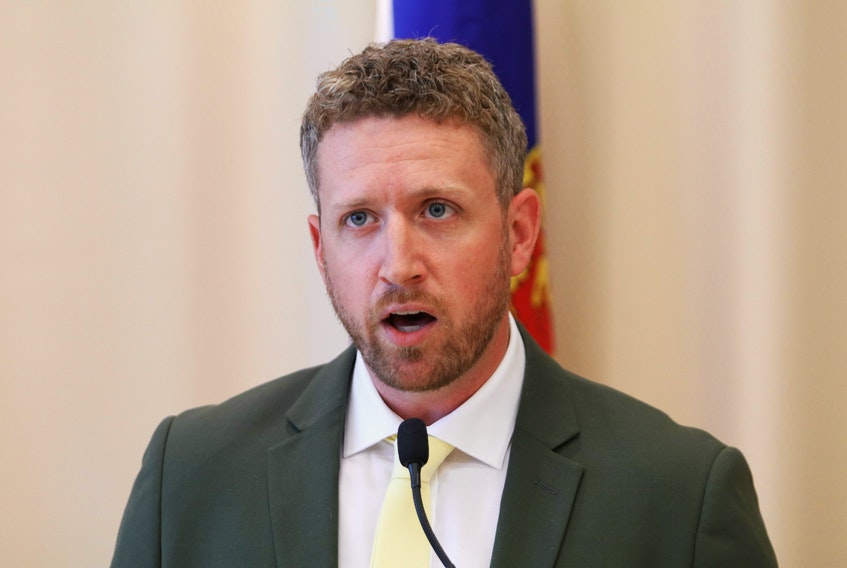 October 5, 2020—Iain Rankin, representing the district of Timberlea-Prospect and former Environment Minister, has thrown his hat into the Provincial Liberal Leadership race. Rankin has become the second candidate to declare his intention to run for the leadership. ERIC WYNNE/Chronicle Herald