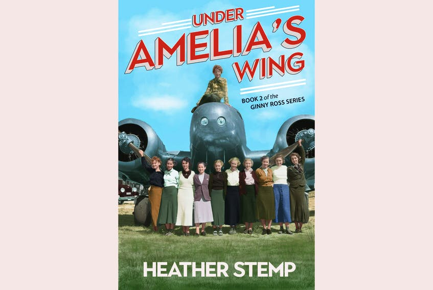 """""""Under Amelia's Wing,"""" Book 2 of the Ginny Ross Series, by Heather Stemp; Nimbus Publishing; $14.95   254 pages. — Contributed"""