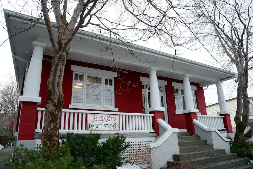 The former Judy Knee Dance Studio building in St. John's. Keith Gosse/The Telegram