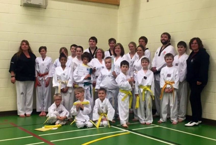 Members of the Tidal Spirit Taekwondo Academy in Avonport have been hard at work fundraising for electronic sparring gear.