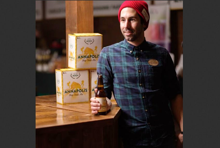 Alexander Keith's brew master Stefan Gagliardi says the new Annapolis Hop Field Ale will help promote agriculture in Nova Scotia and support the Valley's burgeoning hop growing industry.