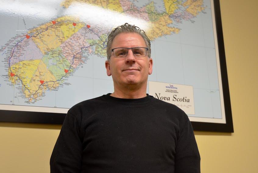 Stephen Schneider of Wolfville, a professor of Criminology at Saint Mary's University in Halifax.