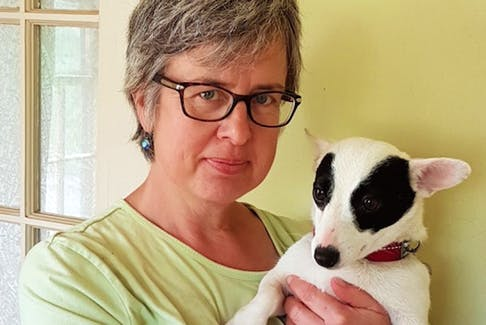 Wolfville area dog breeder Karin Robertson is hoping someone will be able to inform her about the whereabouts of the Great Pyrenees pup she called Budda Boy.