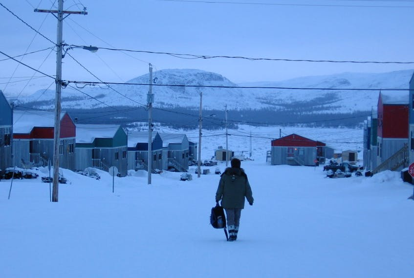 Kangiqsualuujuaq, in Nunavik, the northern-most region of Quebec.