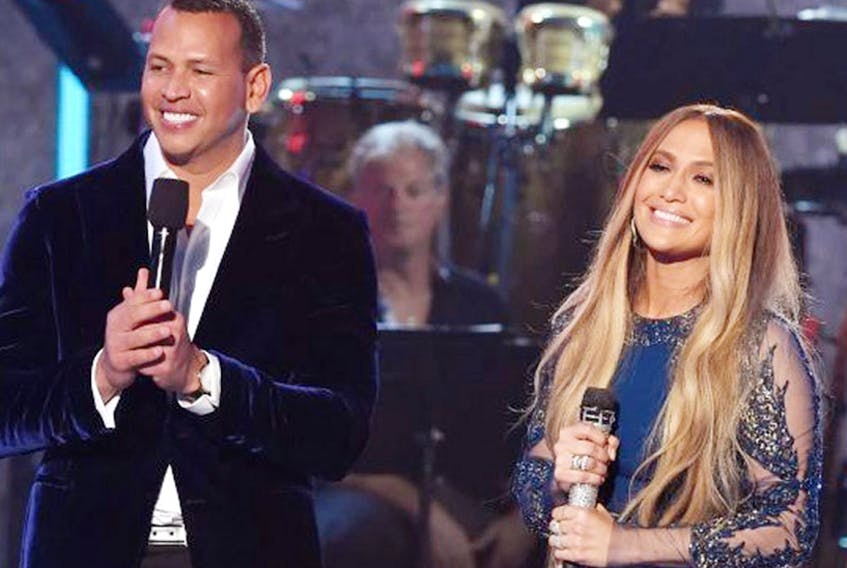 Love was alive because 2017 brought us a new couple, Jennifer Lopez and Alex Rodriguez. SUBMITTED PHOTO