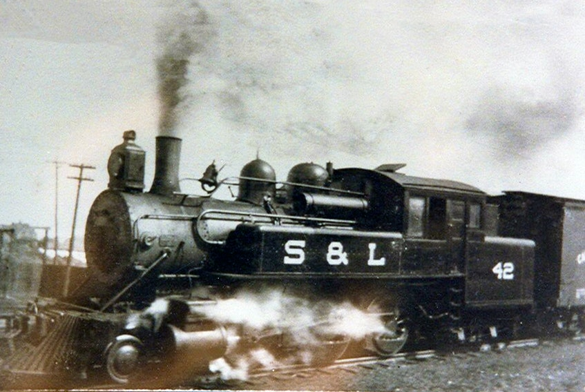Before it was a tourist train from 1973 to 1979, the No. 42 steam engine was an S&L Railway locomotive from 1901 until 1955. It was one of the engines that would have powered the Hobo. CONTRIBUTED
