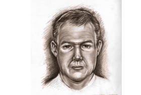 """Age progression sketch of what Allan """"Kenley"""" Matheson might look like today."""