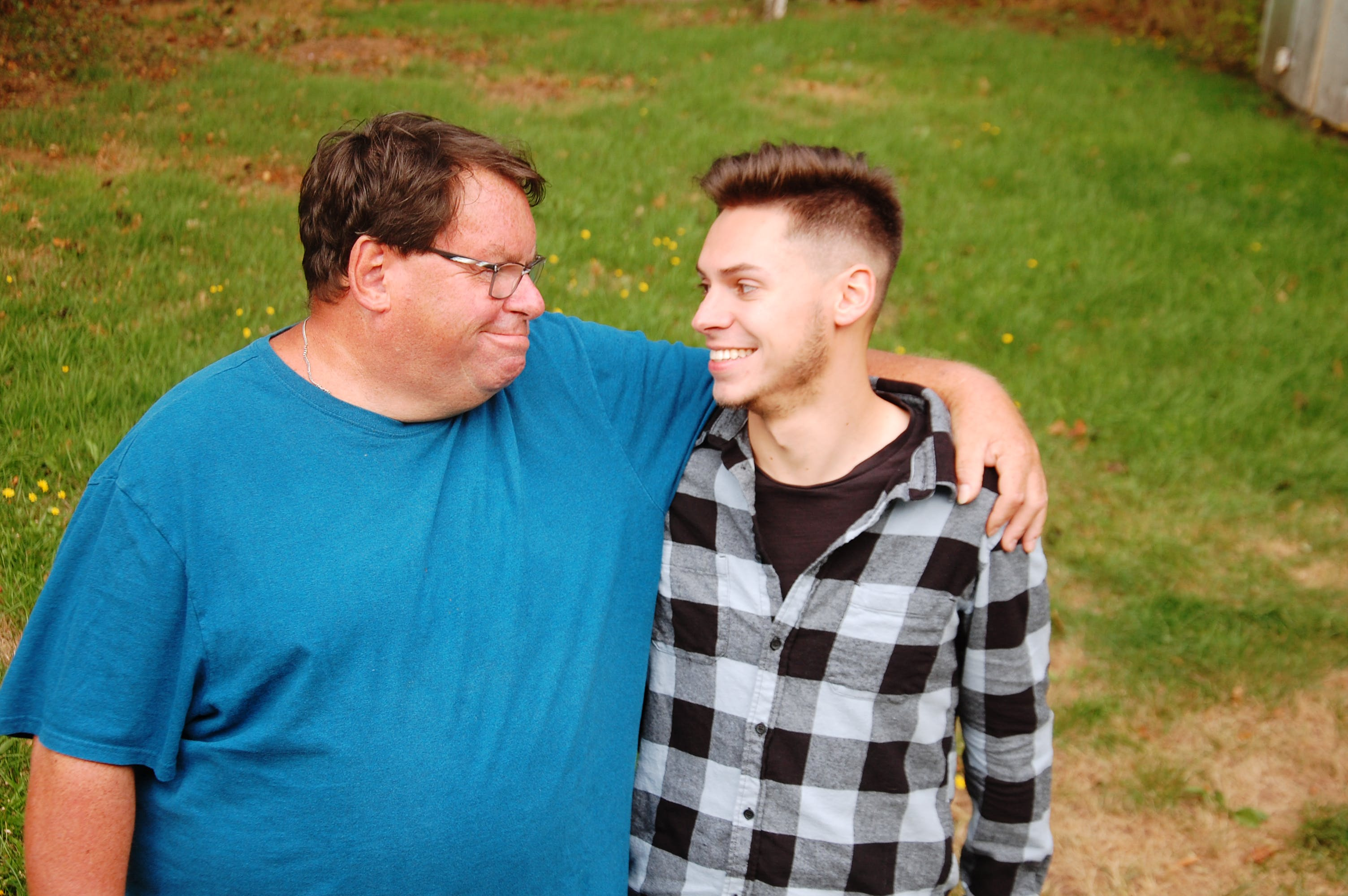 """Kenneth Murnaghan of Charlottetown says despite living with a serious brain injury, raising his son Tyler, who is now 26, """"was heaven...I loved it.''"""