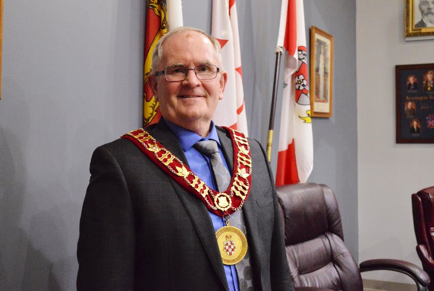Kensington Mayor Rowan Caseley and council approved the town's 2020/2021 financial plan March 9. Alison Jenkins/Journal Pioneer