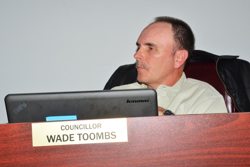 Coun. Wade Toombs voted against the Town of Kensington moving forward with water meters for residential dwellings during a recent committee of council meeting.