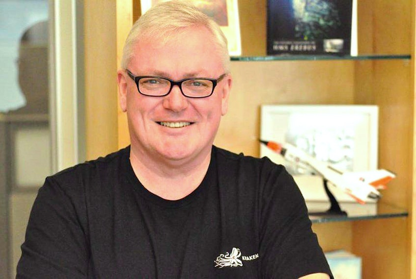 Kraken president and CEO Karl Kenny