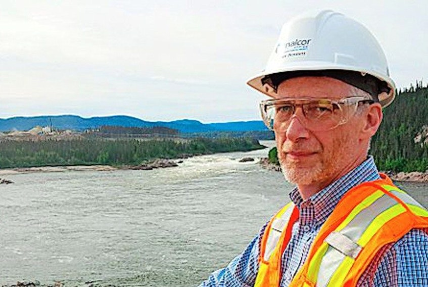 <p>Gilbert Bennett, vice president of the Lower Churchill Project</p>