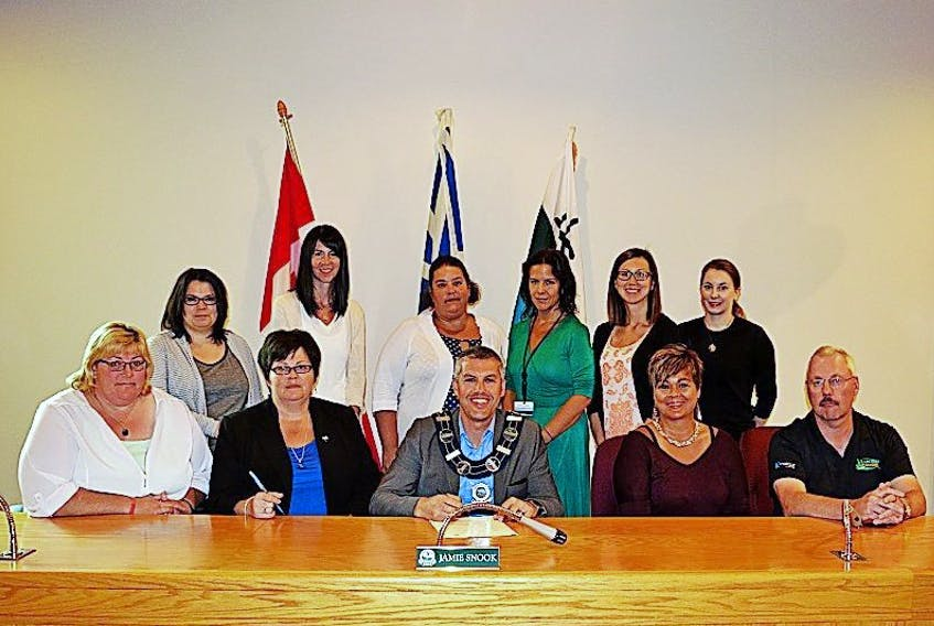 Fetal Alcohol Spectrum Awareness (FASD) Day will be observed on Sept. 9, and in recognition of that day, a proclamation was signed at the Town of Happy Valley-Goose Bay.