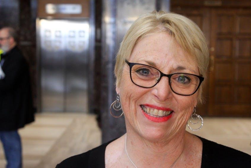 Newfoundland and Labrador Federation of Labour president Mary Shortall. TELEGRAM FILE PHOTO