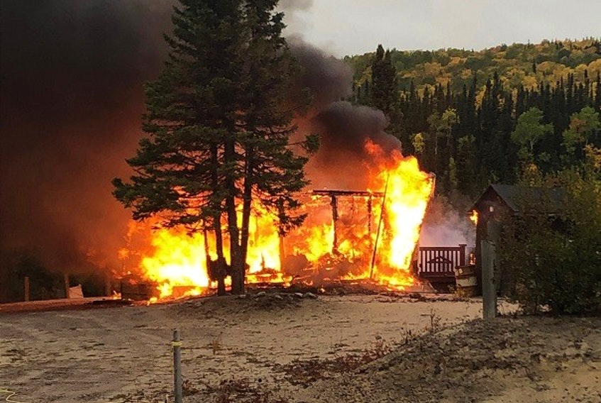RCMP arrested the Sheshatshiu man believed to have started the fires - COURTESY OF THE RCMP