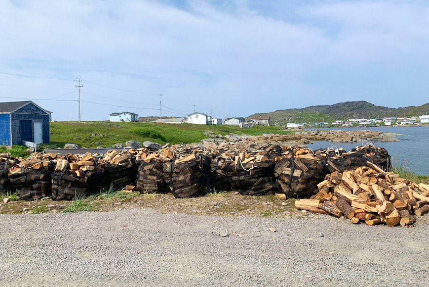 NunatuKavut Community Council delivered 75 cords of firewood last summer to Black Tickle as part of a pilot project. — Contributed