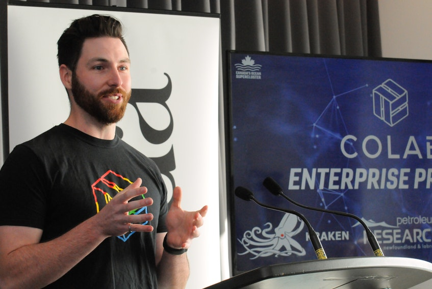 Adam Keating, CEO and co-founder of CoLab Solutions.