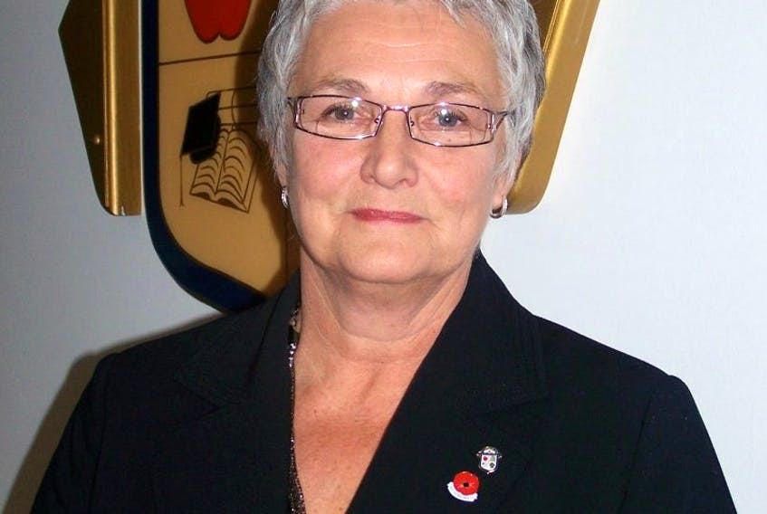Chairwoman of the Annapolis Valley Regional School Board Lavinia Parrish Zwicker. File.