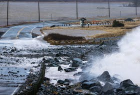 Storm surge and erosion make a mess in Lawrencetown. Nova Scotia Environment