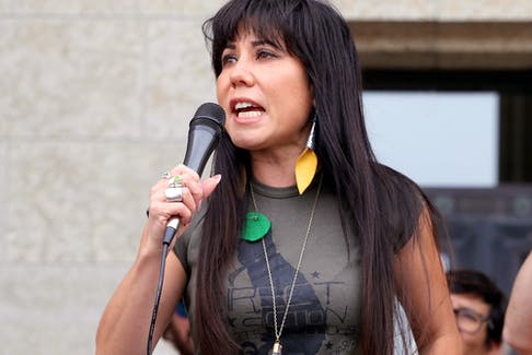 """Winnipeg Centre MP Leah Gazan: """"I think being born Indigenous in Canada is a political act in itself."""""""