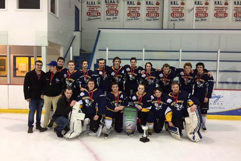 The Lewisporte Midget Seahawks had the luck of the Irish on their side this past weekend as they captured the gold medal at the St. Paddy's Day Winter Classic hockey tournament in Botwood.