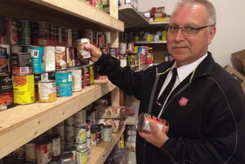 Given the recent news that the Twillingate shrimp plant will not open this year, Captain Ray Saunders with the Salvation Army-Bayview Corps says the area's food bank will be ready to assist those in need.