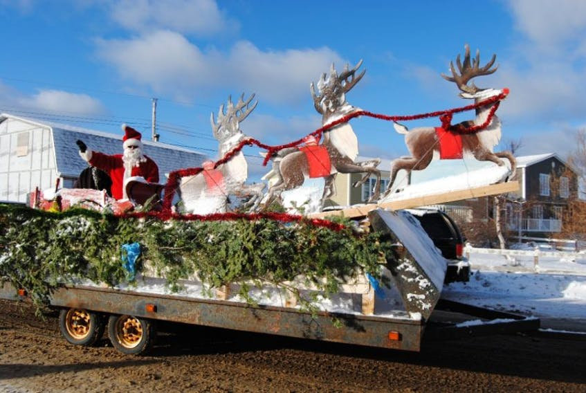 Santa Claus arrived in Twillingate on Dec. 10 to help spread Christmas cheer at the annual Christmas parade. Despite the cold temperatures, crowds gathered to celebrate the season and cheer on the floats as they made their way through town.