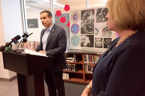 Nova Scotia Education Minister Zach Churchill.  Stuart Peddle