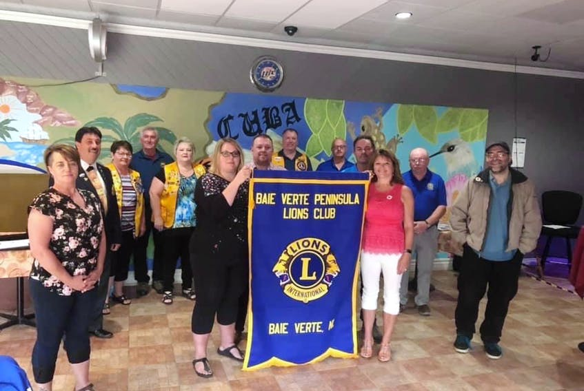 The Baie Verte Peninsula Lions Club received its official club charter during a ceremony on Aug. 25. The charter marks the return of the Lions Club to the area. Contributed photo