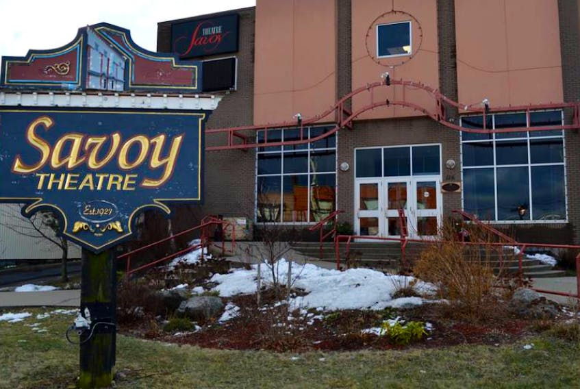 The Savoy Theatre in Glace Bay, shown above, has postponed all performances over concerns about the COVID-19 virus.