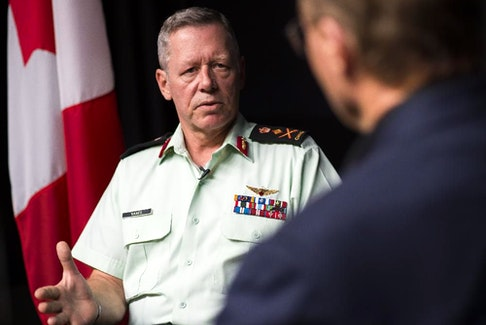 Chief of the Defence Staff Jonathan Vance  on Friday, July 31, 2015.