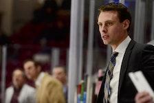 Grand Falls Rapids head coach Brad MacKenzie of Charlottetown.
