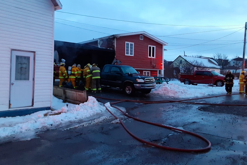 Arson charges have been laid following a pair of fires at two homes in Fortune on Sunday. The Fortune Volunteer Fire Department and Burin Peninsula RCMP both responded to the scene. PAUL HERRIDGE/THE TELEGRAM