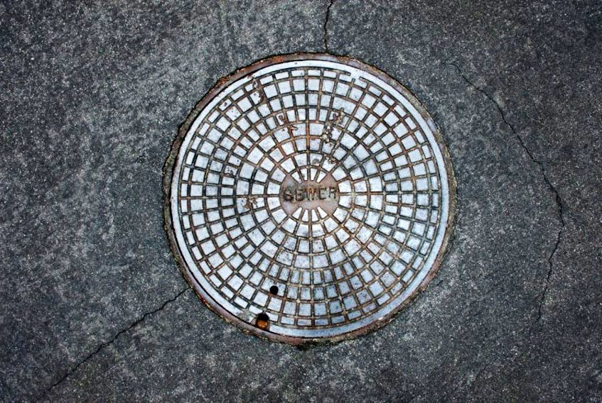 Summerside police had to help rescue an intoxicated man from a manhole Friday morning.
