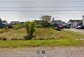 A piece of land for sale by tender on Seventh Street in Glace Bay. CONTRIBUTED • GOOGLE MAPS