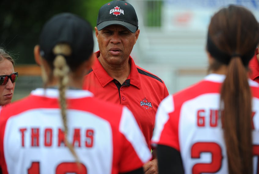 Canadian women's softball coach Mark Smith said he and his players learned many life lessons throughout their COVID-19 shutdown. Contributed